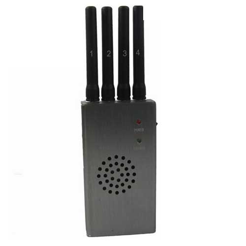 Portable High Power Wi-Fi & Cell Phone Jammer with Fan (CDMA GSM DCS PCS 3G)