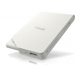 Disque Dur Externe Silicon Power Stream S03 / USB 3.0 / 500 Go / Blanc