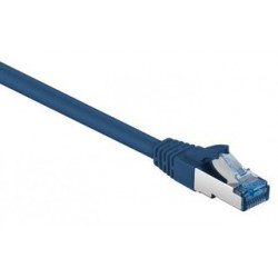 Câble RJ45 Cat6a SFTP 10 Gigabit / 1M / Gris