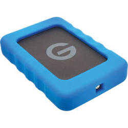 G-Technology - G-Technology 1TB G-DRIVE ev RaW USB 3.0 Hard Drive with Rugged Bumper