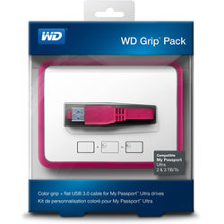 WD - WD Grip Pack for 2TB & 3TB My Passport Ultra (Smoke)
