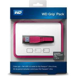 WD - WD Grip Pack for 1TB My Passport Ultra (Grape)