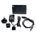 """Garmin Travel Pack – Carrying Case + AC charger w/International"